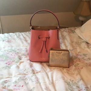 NWOT Kate Spade Small Eva Bucket Bag